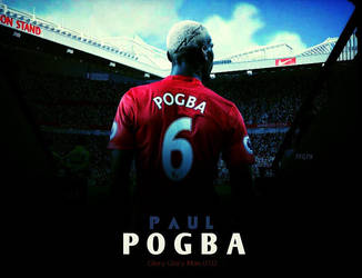 Paul Pogba Manchester United Hd Wallpaper By Ffgfx By Ffgfx7 On