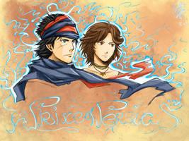 Prince and Elika by SoRa-KuRisU
