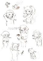 Character Sketches by Sorata-San