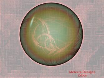 Sphere of Digital Chaos by metecra