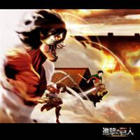Shingeki No Kyojin by zonerix