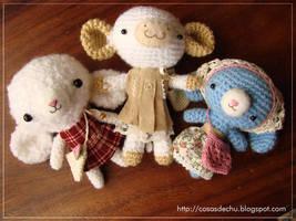 Amigurumi Girls by TENKULA