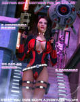 Custom Scifi costume for V4 and A4 by Terrymcg