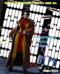 Bastila Costume for V4 and A4 by Terrymcg