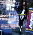 Custom scifi costume for V4 by Terrymcg