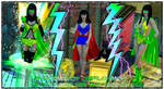 Phantom Lady cosplay Pack by Terrymcg
