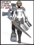 Claymore cosplay costume for V4 and A4 by Terrymcg