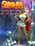 She-Ra cosplay costume for v4 and A4 by Terrymcg