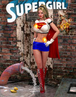Supergirl bluemini preview by Terrymcg