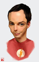 Dr. Sheldon Cooper by Layerx3