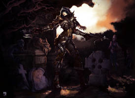D3(Demon Hunter) by Layerx3