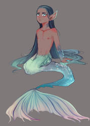 Merman 01 by Pear14