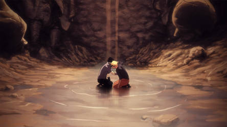 To the Last Fist - Naruto 697 by kingpaulie