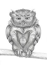 owl by Shroe-desu