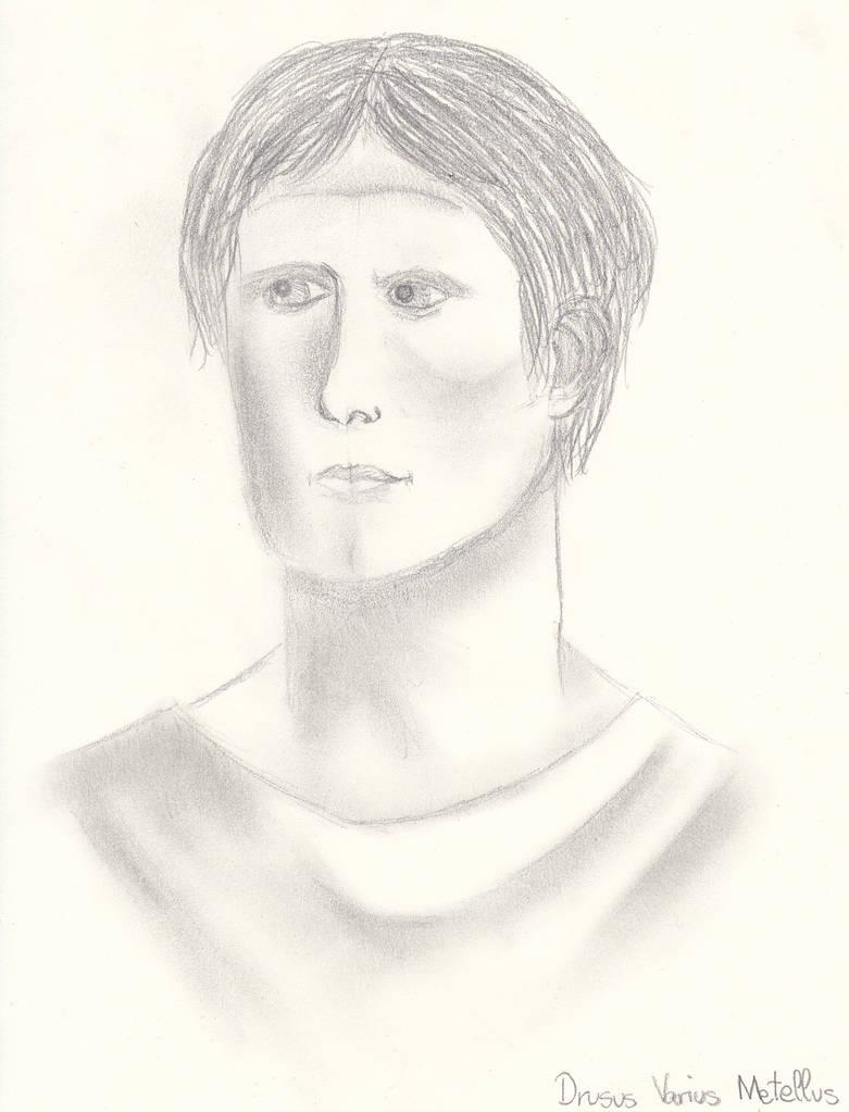 Drusus Varius Metellus by AlleynaArts