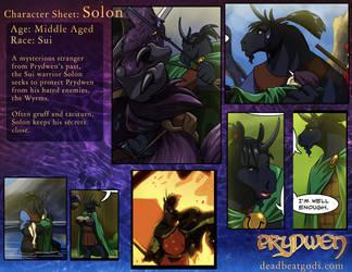 Character Sheet- Solon by deadbeatgods