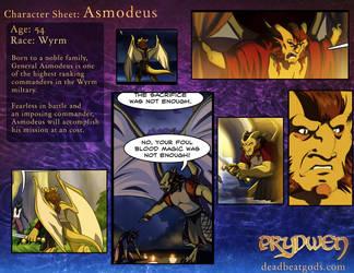Character Sheet- Asmodeous by deadbeatgods