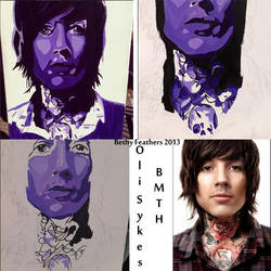 Oliver Skyes - Art Assignment by MomoIcedTea