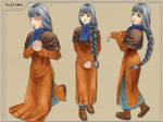 lowpoly Valkyrie Profile entry by PlatypusGreen