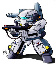 SD Strike VF-1SS by Mintyrobo
