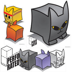 Perforated Cats by jio