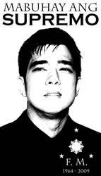 MABUHAY ANG SUPREMO by jio