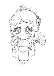 Chibi Midori by chidori-k