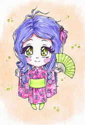 Chibi Midori color by chidori-k