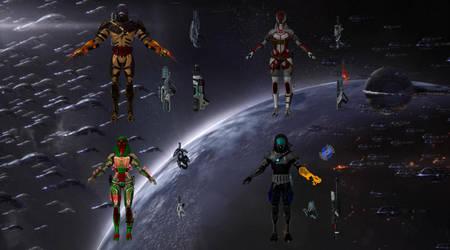 Echo Squad CG by NewPlanComics