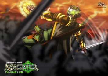 Magister the animated series by NewPlanComics