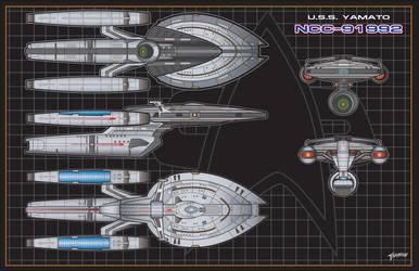 USS Yamato (NCC-91992) View by NewPlanComics