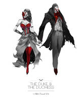 The Duke and The Duchess by aoxenuk