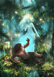 Young Tarzan and the Mysterious She by aoxenuk