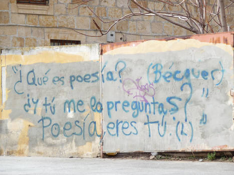 Poesia eres tu, Becquer by Ladynere
