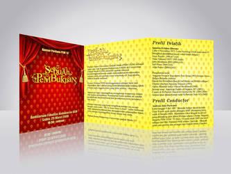 Booklet KOnser Tahunan PSM 200 by dubidubidams
