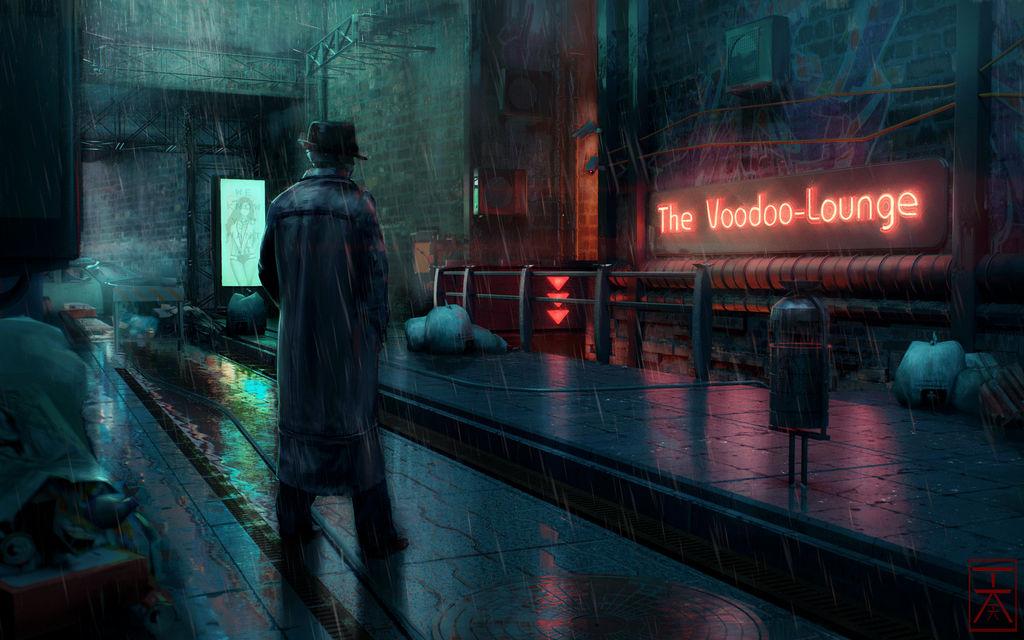 My darling, the dreamer - Bar Exterior by AranniHK