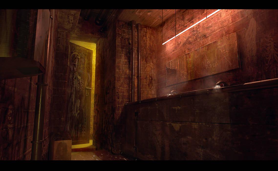 My darling, the dreamer - Bathroom by AranniHK