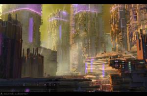 S2150 - Industrial Slum District by AranniHK