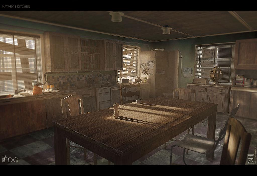Project FOG - Matvey's Kitchen by AranniHK