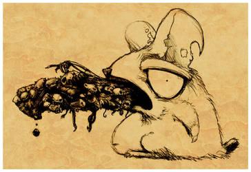 Rat Pellet by MisterBlackwood