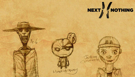 Next to Nothing - Initial Character Grouping 1 by MisterBlackwood