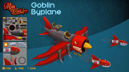 Goblin BiPlane by MisterBlackwood