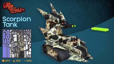 Scorpion Tank by MisterBlackwood