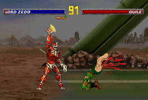 Lord Zedd defeats Guile by Chimera495