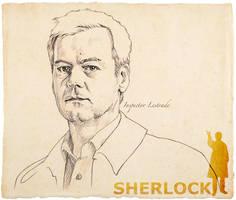 Inspector Lestrade by 403shiomi
