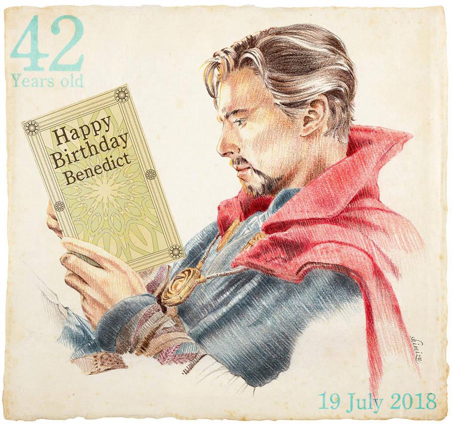 42 Happy Birth Day Benedict by 403shiomi