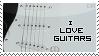 I Love Guitars -Stamp- by Dark-Arya