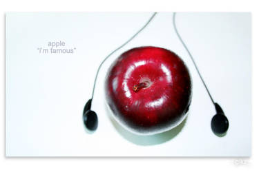 apple 'i'm famous' by gikz