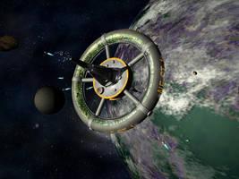 New Earth Station v.4d by Antarasol