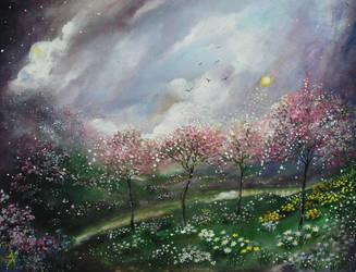 Eternal springtime by milenkadelic